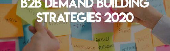 Webcast at BrightTALK's Demand Building Strategies 2020 Summit